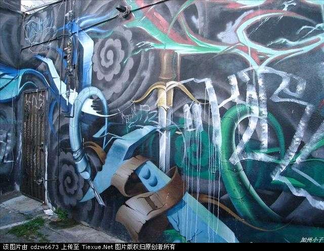 美国的街头涂鸦
