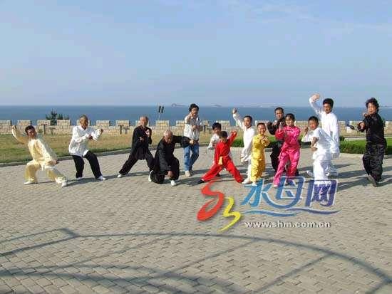 烟台螳螂拳上中央4套《走遍中国》节目(图)--新