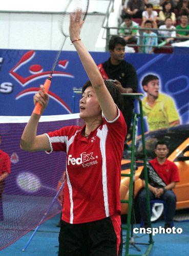 新秀朱琳为中国夺得羽毛球世锦赛首枚金牌