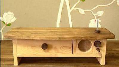 个性造型木头做的mp3