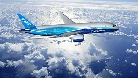 """波音787""""梦想""""飞机"""