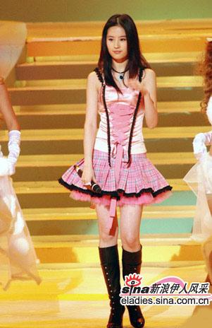 刘亦菲:美女最上镜穿衣经