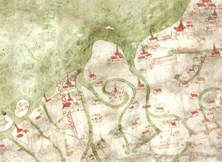 英国现最古老的地图 地图精度 惊人 准确