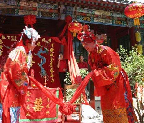 【中式婚礼仪式流程】