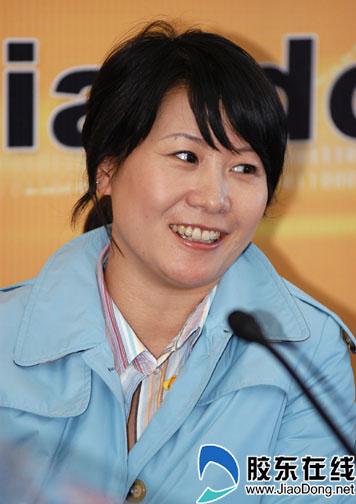 奥运冠军李菊携手胶东在线 共同开通胶东菊迷网