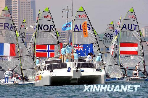 帆船比赛规则比较复杂,不了解帆船知识的人很难看懂比赛全过程.