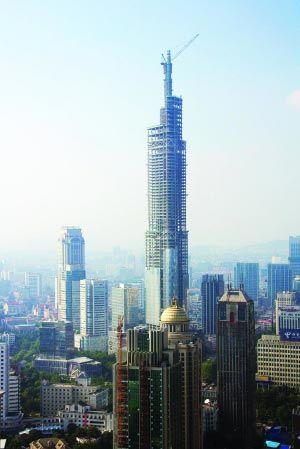 中国在建高楼