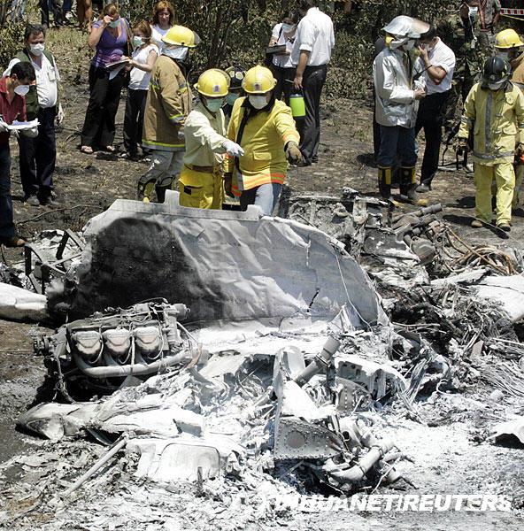 一小型飞机在乌拉圭境内坠毁 机上5人全部遇难