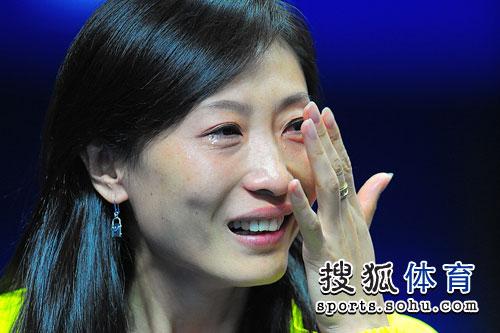 张宁洒热泪