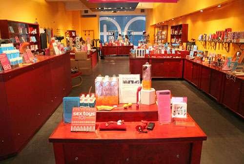 位于曼哈顿的babeland情趣用品店西皮大增情趣德尔露销量图片