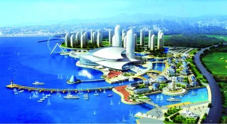 将斥资30亿元在青岛开发区凤凰岛旅游度假区唐岛湾打造我国第一座集