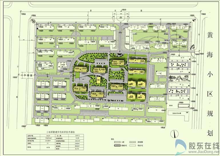 开发区黄海小区d组团住宅楼建筑设计方案