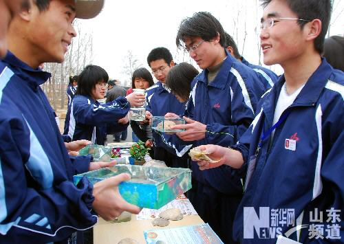 山东大学生开展青春创业实践活动