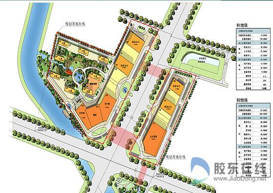 商业街总平面图设计