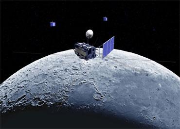 """日本""""月亮女神""""号绕月探测器"""