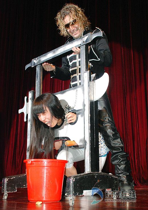 西班牙魔术师大骗港城市民