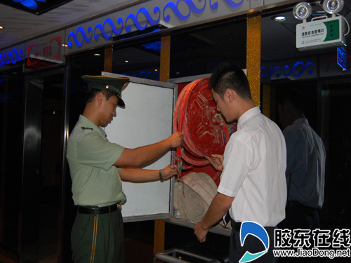 福山:全面展开平安全运围剿火灾隐患(图)