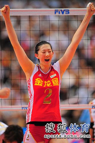 中国女排薛明生活照