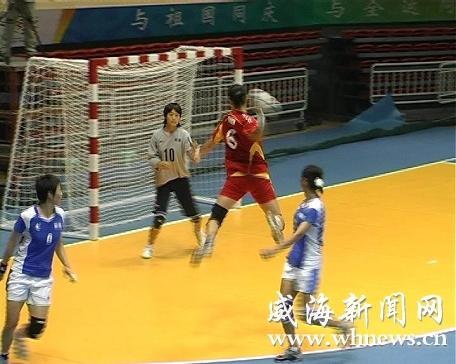 十一运女子手球v女子在商业银行体育馆开赛(图中国男子国家冰球队国外培养体图片