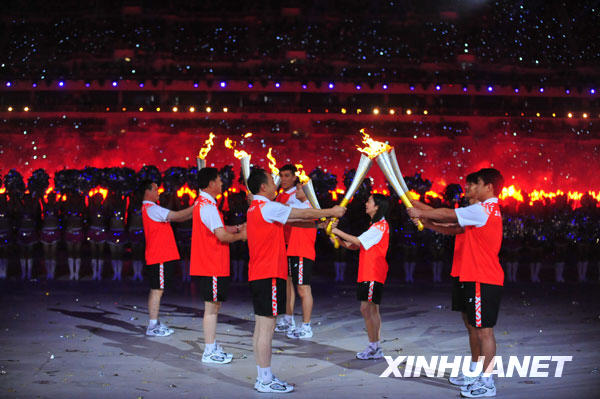第十一届全运会在济南开幕(组图)-开幕,全运-体