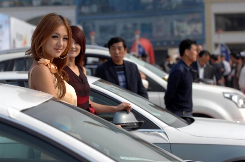 青岛秋季汽车交易会在青岛国际会展中心开幕