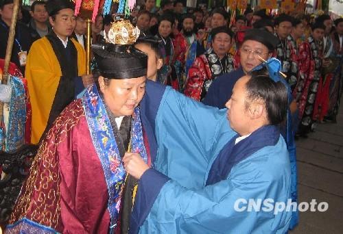 武汉长春观诞生中国道教历史上首位女方丈