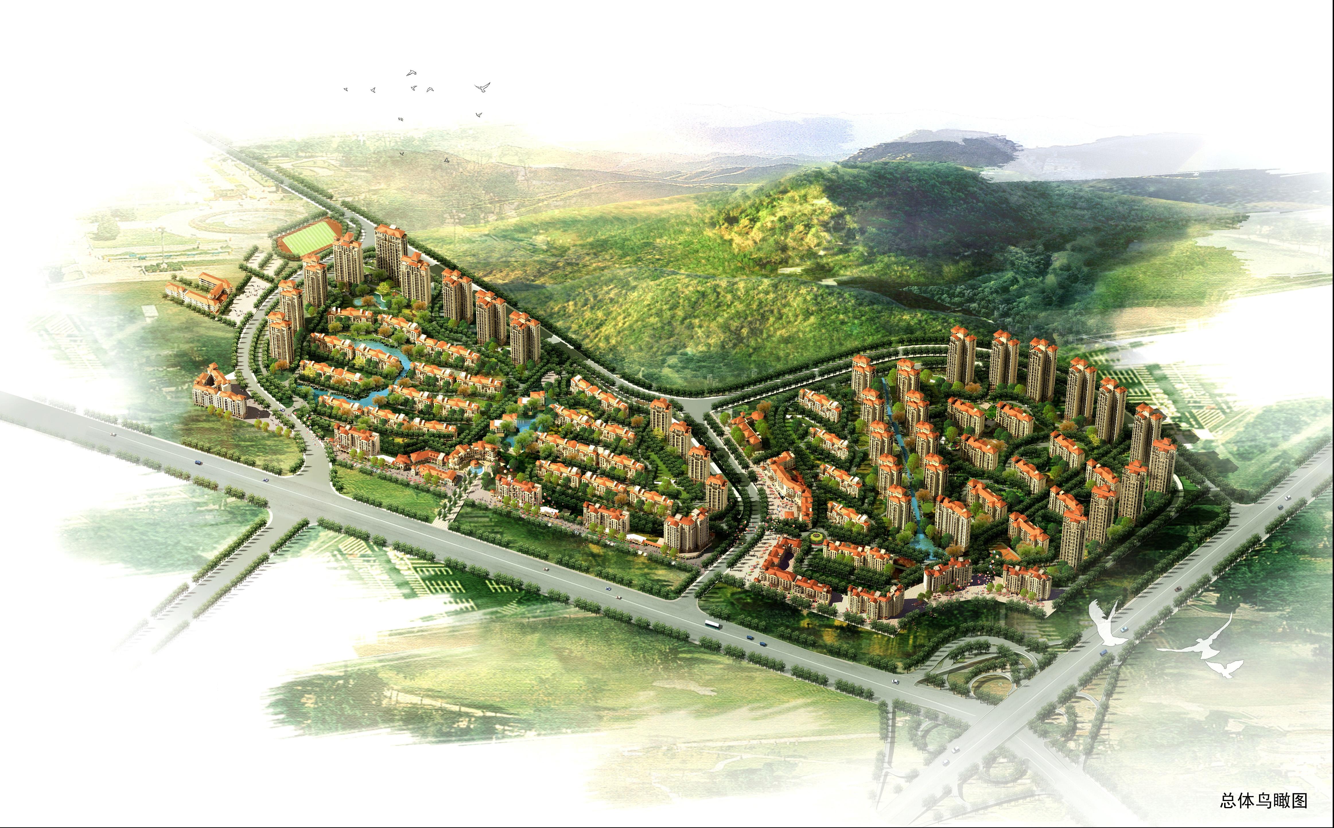 烟台南山国际城高清图片