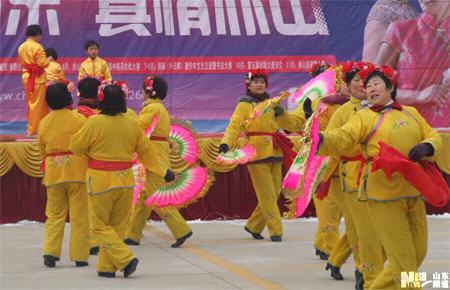 2月14日是正月初一,山东威海石岛赤山风景名胜区第五届新春庙会隆重