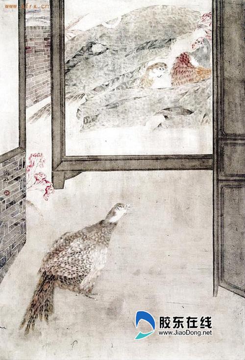 胶东文化 陈林花鸟画作品展3月24日在群众艺术馆举行
