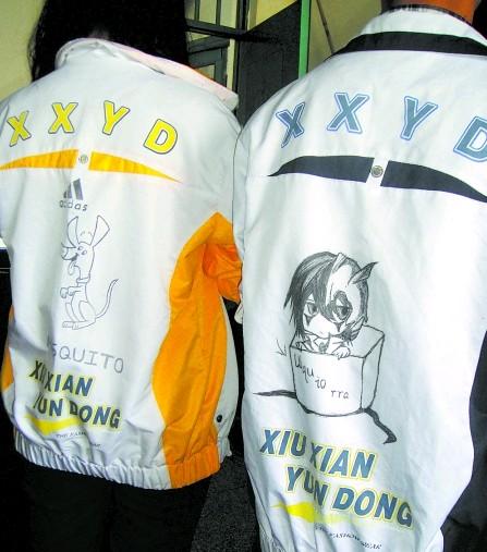 四川眉山中学生流行校服diy 比谁涂鸦有创意