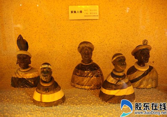 非洲特色木雕玩偶