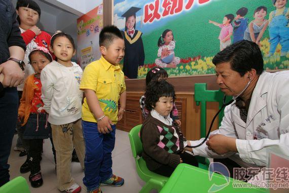 中法友谊医院关注儿童健康