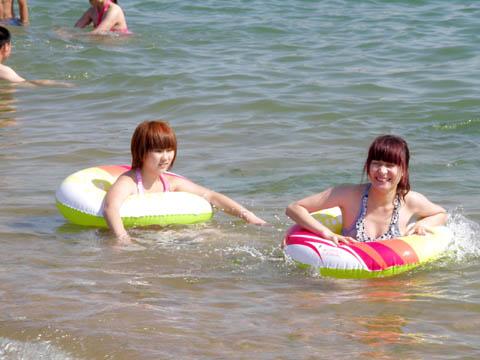 青岛海滩美女青岛海滩青岛美女青岛沙滩