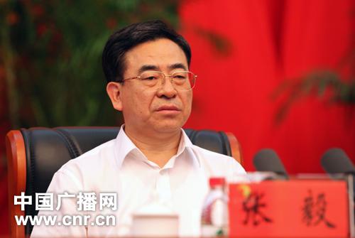 新任宁夏回族自治区党委书记张毅