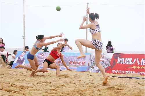 wonderful beach handball games(一)