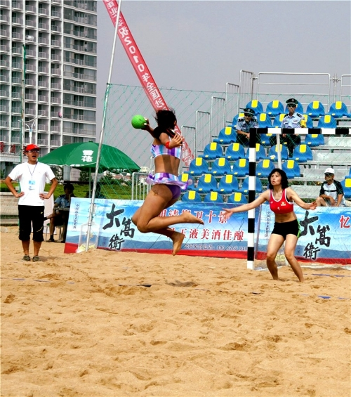 wonderful beach handball games(二)