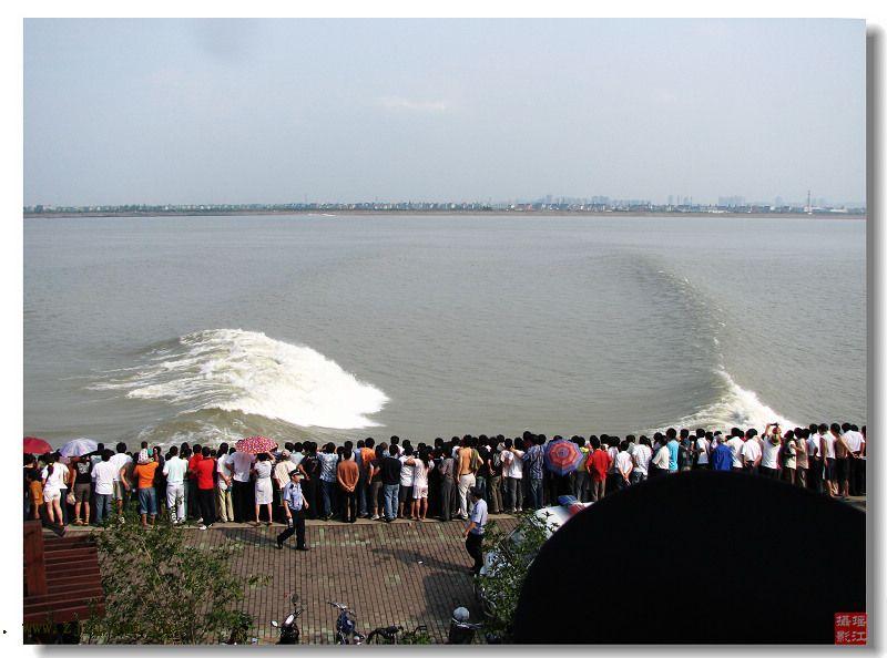 浙江省海寧市水文站獲悉,受降水量增加影響,今年(2010年)9月25日錢塘