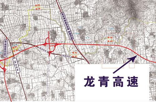 青龍高速路線圖圖片