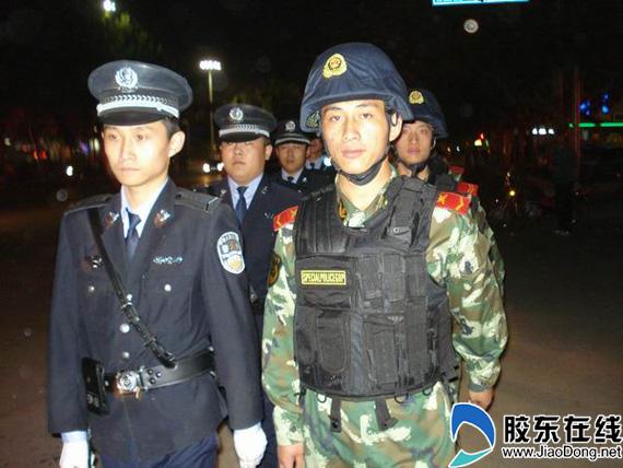 武装联勤巡逻保平安