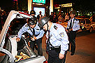 芝罘警方开展设卡清查行动 抓获犯罪嫌疑人5名