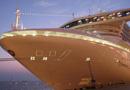 """世界最豪华邮轮之一""""钻石公主""""号抵达青岛"""