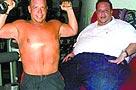 美国胖男吃巧克力成功瘦身 已甩掉116公斤