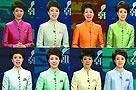 """央视女主播穿""""彩虹装""""是个误解(图)"""