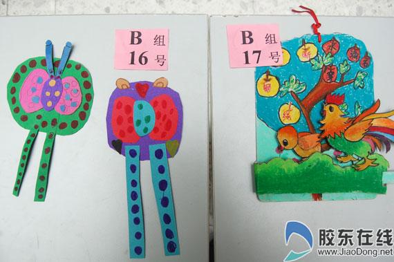 少年儿童书签制作比赛举行