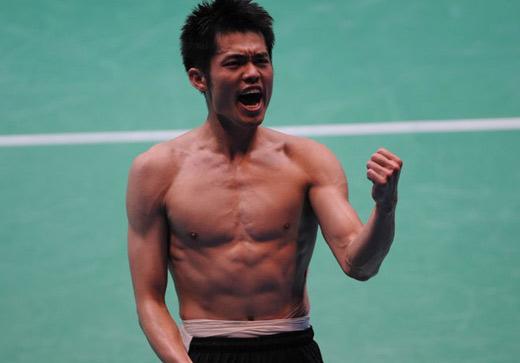 亚运会羽毛球男单决赛 林丹夺金实现全满贯