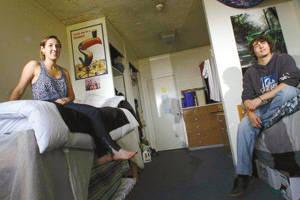 长期以来美国大学院校的男女宿舍都是被分开的