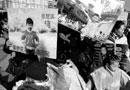 """百余名""""小画家""""济南泉城广场宣传环保(图)"""