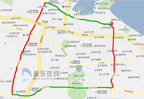 泰安区域划分地图