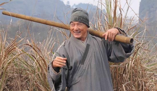 《新少林寺》明日烟台上映 看成龙 煮饭 (图) 科