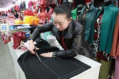 30人士裁缝店重出江湖成图纸新宠年前(图)青点心不织布时尚图片